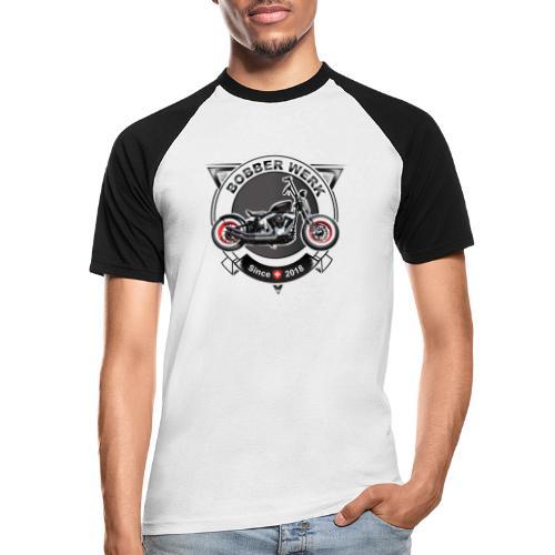Bobber Werk - Männer Baseball-T-Shirt
