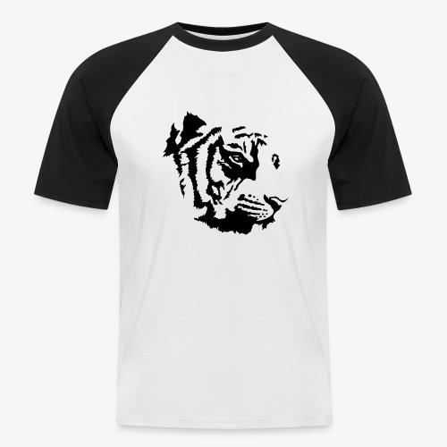Tiger head - T-shirt baseball manches courtes Homme