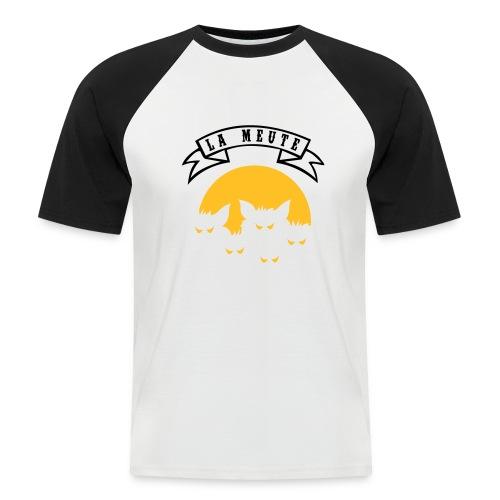 la meute - T-shirt baseball manches courtes Homme