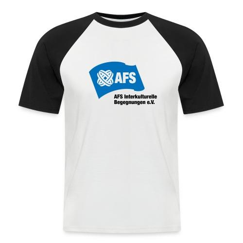 AFS-Logo - Männer Baseball-T-Shirt