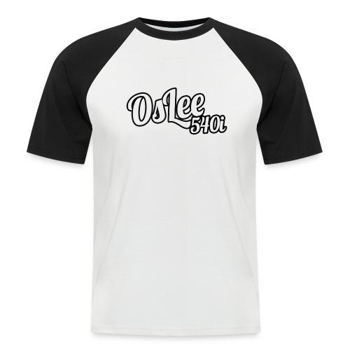 OsLeeLogoschattenGross - Männer Baseball-T-Shirt