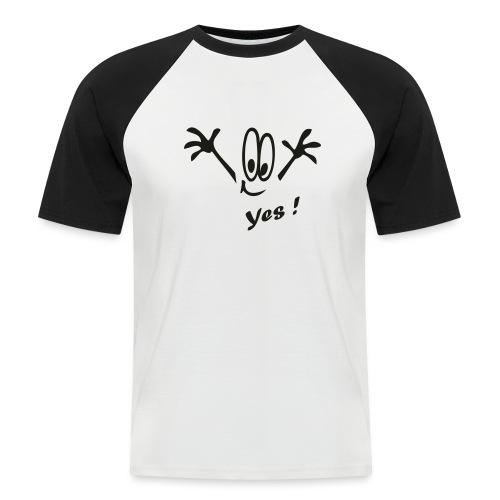 Yes ! Comic - Männer Baseball-T-Shirt
