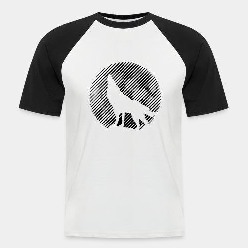 WOLF_02 - Koszulka bejsbolowa męska