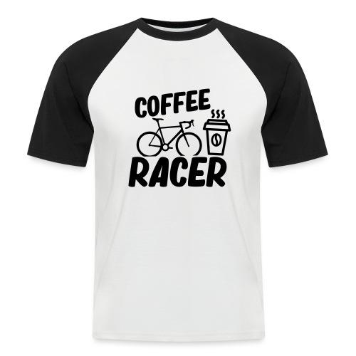 Coffee Racer - Männer Baseball-T-Shirt