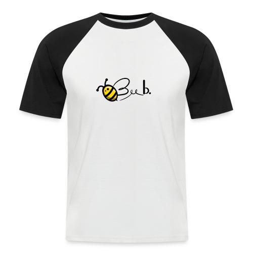 Bee b. Logo - Men's Baseball T-Shirt