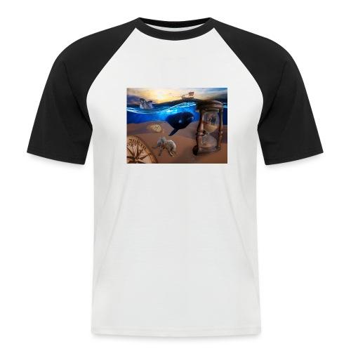 Wodne Przemyślenia - Koszulka bejsbolowa męska