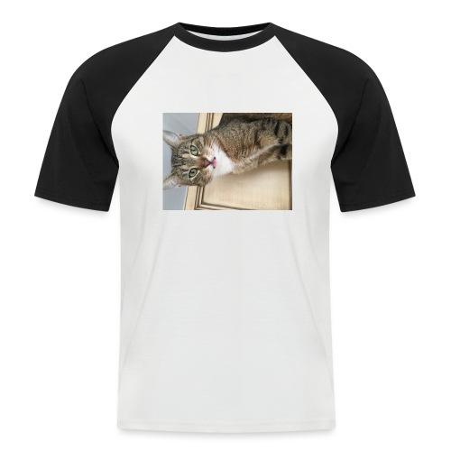 Kotek - Koszulka bejsbolowa męska