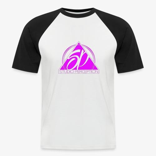 SP LOGO PERCEPTION ROSE - T-shirt baseball manches courtes Homme