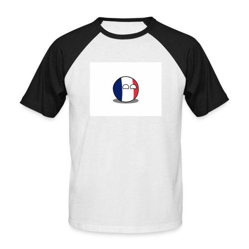 France Simple - T-shirt baseball manches courtes Homme