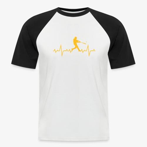 Haert line Baseball - T-shirt baseball manches courtes Homme