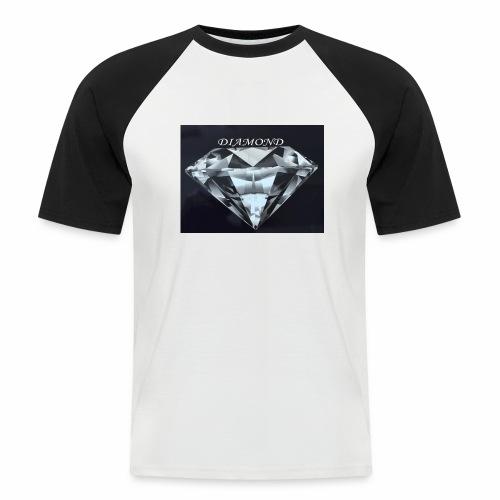 Diamond - Kortärmad basebolltröja herr