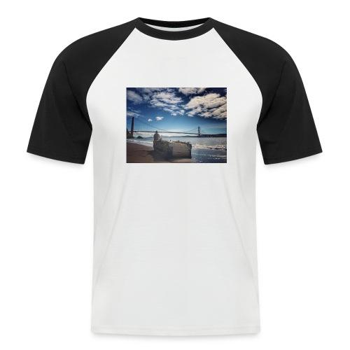 poncio - Camiseta béisbol manga corta hombre
