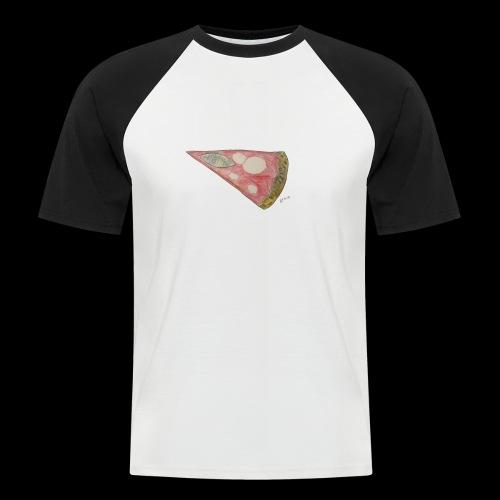 BY TAiTO Pizza Slice - Miesten lyhythihainen baseballpaita