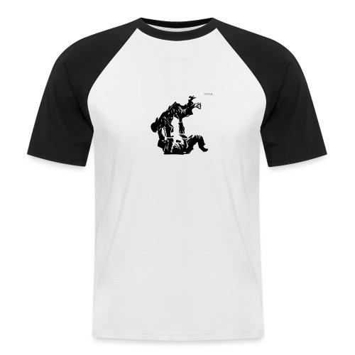 Jutsu v2 - Mannen baseballshirt korte mouw