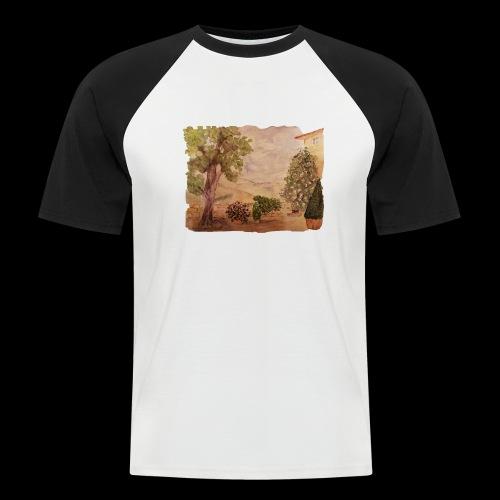Hinterhof - Männer Baseball-T-Shirt
