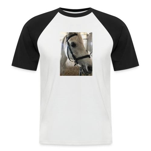 9AF36D46 95C1 4E6C 8DAC 5943A5A0879D - Kortermet baseball skjorte for menn