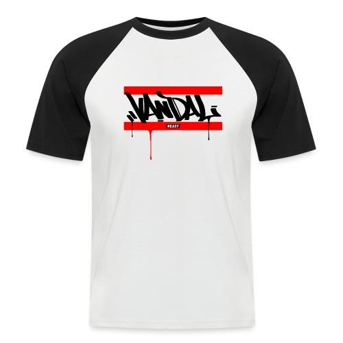 #EASY Graffiti Vandal T-Shirt - Maglia da baseball a manica corta da uomo