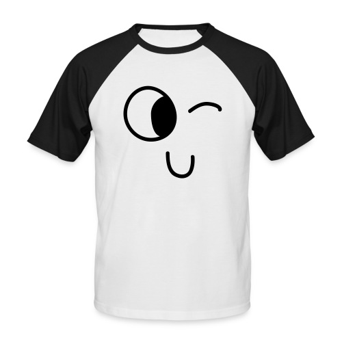 Jasmine's Wink - Mannen baseballshirt korte mouw