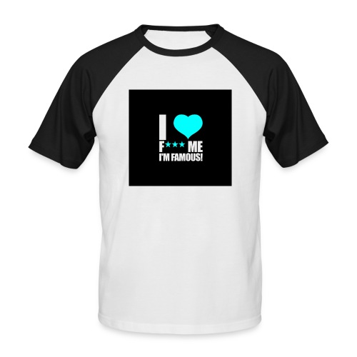 I Love FMIF Badge - T-shirt baseball manches courtes Homme