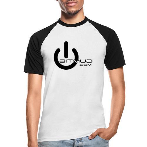 Bitmud Logo - Männer Baseball-T-Shirt