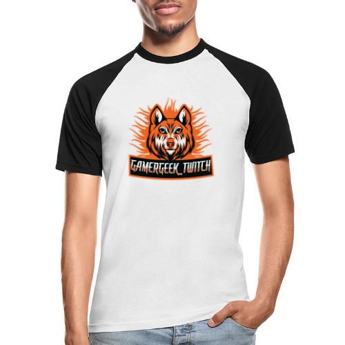GamerGeek Logo XXXL - Männer Baseball-T-Shirt
