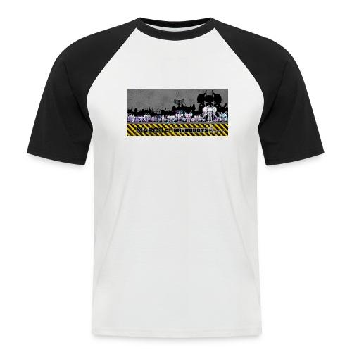 #MarchOfRobots ! LineUp Nr 2 - Kortærmet herre-baseballshirt