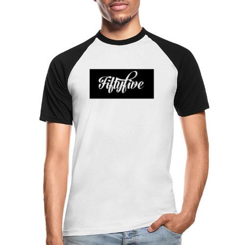 Fiftyfive - Miesten lyhythihainen baseballpaita