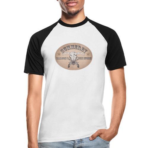 Summerby Saloon - Männer Baseball-T-Shirt