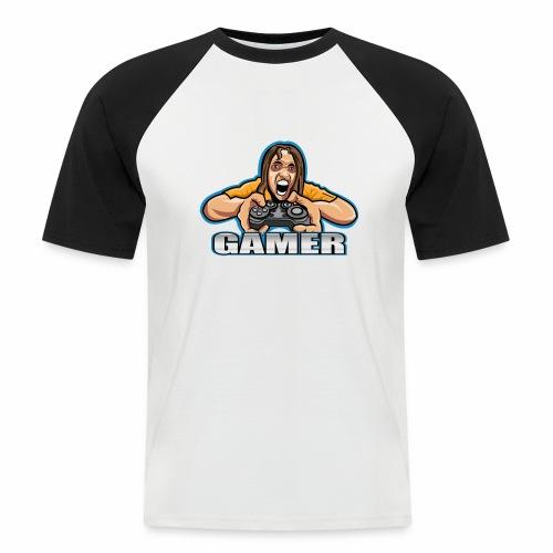 Gamer - Camiseta béisbol manga corta hombre