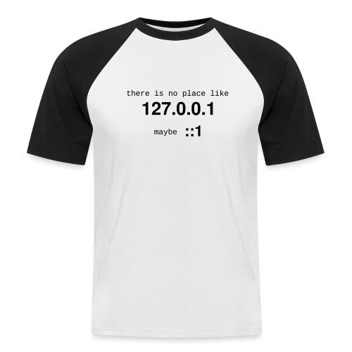 127-0-0-1-::1 - T-shirt baseball manches courtes Homme