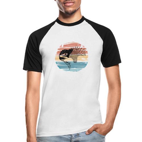 GALAPAGOS - Camiseta béisbol manga corta hombre
