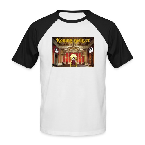 Koning Spekvet - Mannen baseballshirt korte mouw