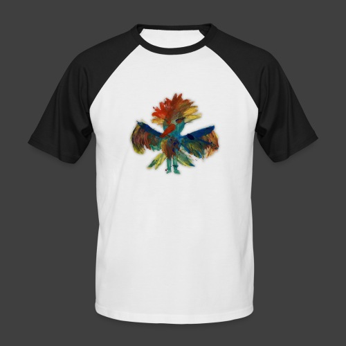Mayas bird - Men's Baseball T-Shirt