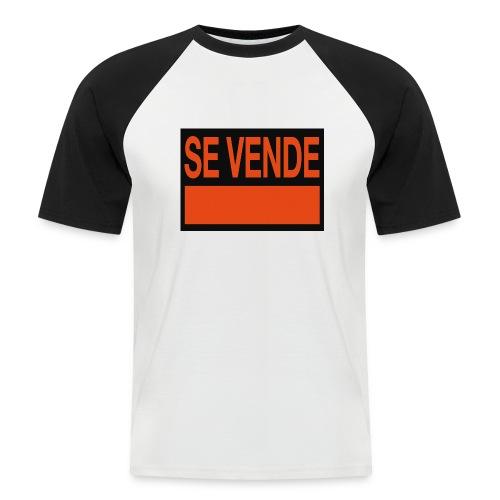 SE VENDE - Camiseta béisbol manga corta hombre