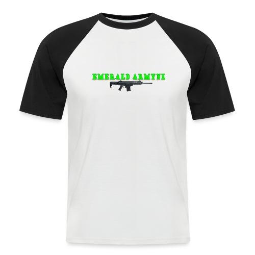 EMERALDARMYNL LETTERS! - Mannen baseballshirt korte mouw