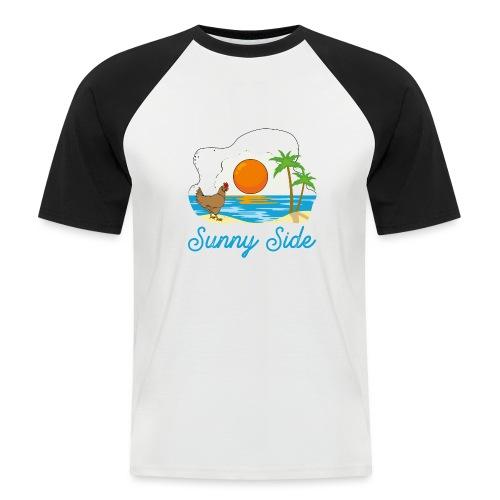 Sunny side - Maglia da baseball a manica corta da uomo