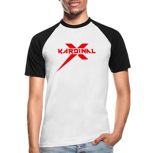 Kardinal X Logo - Men's Baseball T-Shirt