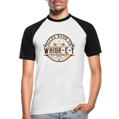 Alles rund um Whisk-e-y - Männer Baseball-T-Shirt