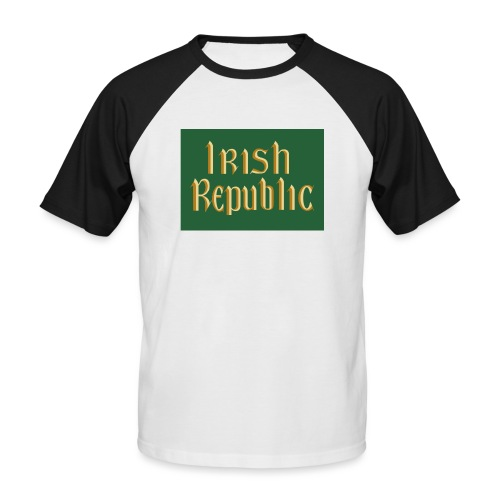 Original Irish Republic Flag - Men's Baseball T-Shirt