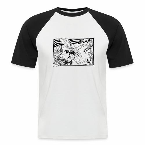 Dragonfly - Koszulka bejsbolowa męska