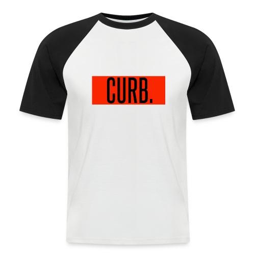 CURB red - Männer Baseball-T-Shirt
