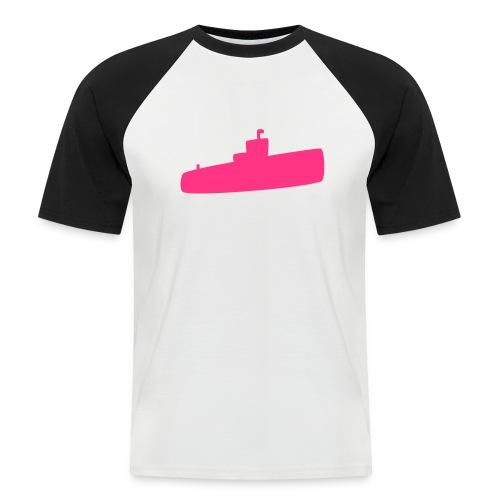 Rosa U-Boot - Männer Baseball-T-Shirt
