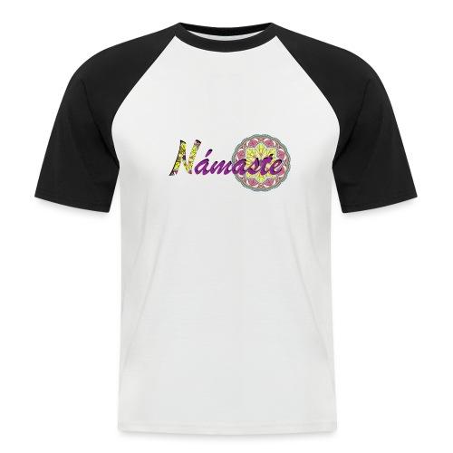 Namaste - Camiseta béisbol manga corta hombre