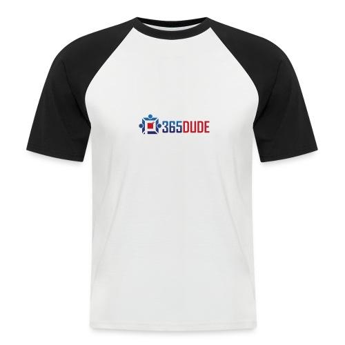 365Dude - Mannen baseballshirt korte mouw