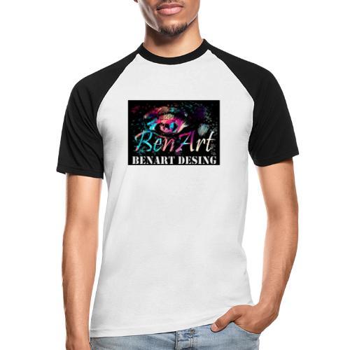 #BENART - T-shirt baseball manches courtes Homme