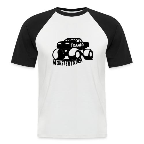 logo mtteam16 noir - T-shirt baseball manches courtes Homme
