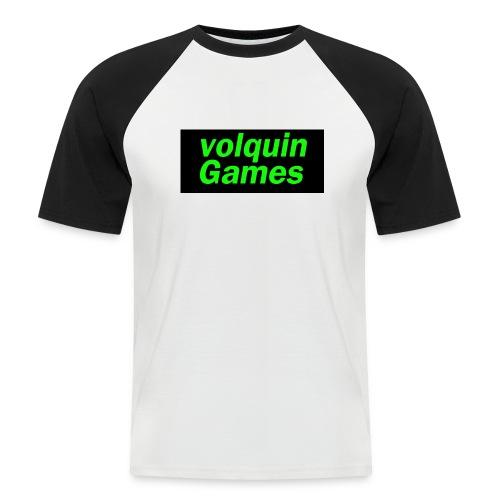 volquin - Mannen baseballshirt korte mouw