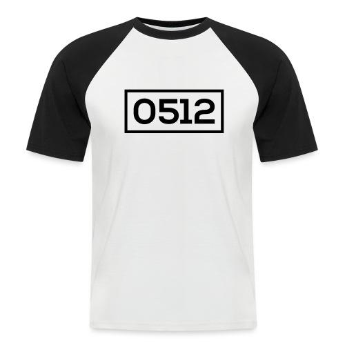 0512 - Mannen baseballshirt korte mouw