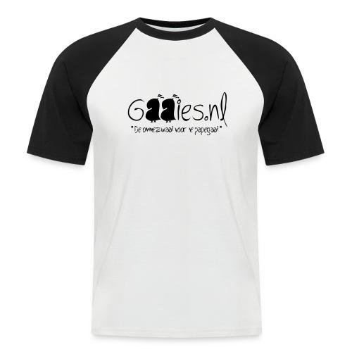 gaaies - Mannen baseballshirt korte mouw
