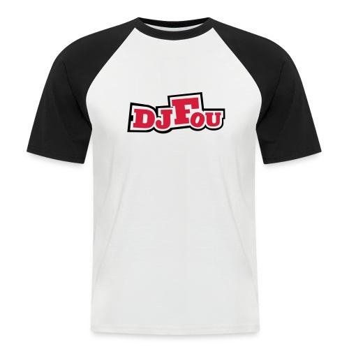 logofou - T-shirt baseball manches courtes Homme